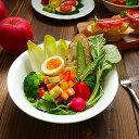 ゆるやかシリアルボウル 洋食器/サラダボウル/スープボウル/中鉢/鉢/たわみ/白い食器