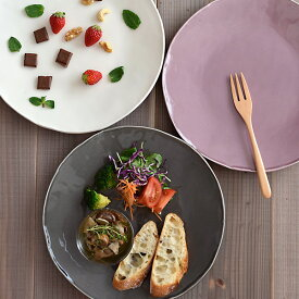 大皿 お皿 27cm shabby-chic Estmarc(エストマルク)プレート 皿 おしゃれ 食器 シャビーシック 大きいお皿 ワンプレート 大皿料理 パスタ皿 オードブル皿 ピザ皿 ピザプレート フレンチシャビ— シャビ—カラー plate
