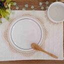 パン皿 16.3cm 2色ブラウンボーダー中皿/プレート/洋食器/取り皿/カフェ食器/ケーキ皿