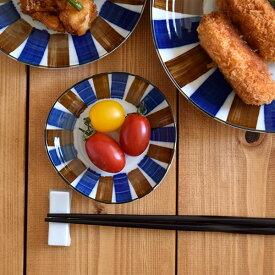 和食器 三角小皿 青茶サビ十草 和食器 皿 お皿 しょうゆ皿 醤油皿 漬物皿 お菓子皿 取り皿 小さいお皿 プレート モダン カフェ風 おしゃれ