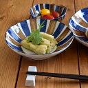 和食器 煮物浅鉢 青茶サビ十草和食器 鉢/ボウル/サラダボウル/盛り鉢