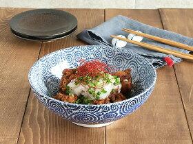 (古染たこ唐草)麺鉢大(アウトレット込み)和食器/さぬき丼ぶり/大ボウル/めん鉢/大鉢/どんぶり