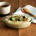 両手付グラタン皿 楕円 ガラス製 グラタン皿/耐熱ガラス/オーブンウェア/オーブン料理/ドリア/ラザニア/グリル焼き/…