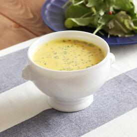 高品質!白磁 ライオントリュフスープ(S)オーブン使用可能スープボウル ボウル オーブン調理 白い食器 高級食器 業務用 ホテル食器 おしゃれ ポットパイ パーティー カフェ風