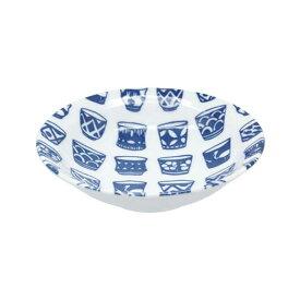 和食器 中鉢 藍ならべ 器鉢 煮物鉢 とんすい 鍋取皿 和柄 和風 副菜皿 サラダボウル ヨーグルトボウル シリアルボウル カフェ食器 和カフェ おうちCafe モダン 和モダン おしゃれ