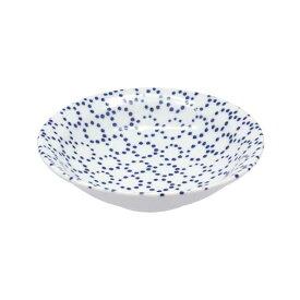 和食器 中鉢 藍ならべ 点々鉢 煮物鉢 とんすい 鍋取皿 和柄 和風 副菜皿 サラダボウル ヨーグルトボウル シリアルボウル カフェ食器 和カフェ おうちCafe モダン 和モダン おしゃれ