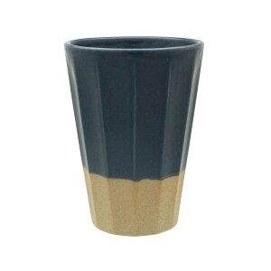 ビアカップ あかつき ネイビー 和食器ビールカップ ビールコップ ビアタンブラー ビアマグ 酒器 茶器 湯のみ 湯飲み 焼酎カップ プレゼント 贈り物 和カフェ おうちCafe モダン 和モダン おし