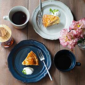 ケーキ皿 19.5cm フィセル プレート おしゃれ 洋食器 お皿 皿 食器 中皿 取り皿 ケーキ皿 サラダ皿 デザートプレート パン皿 カフェ風 カフェ食器 デザート皿