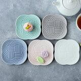 小皿11cm結YUIマットカラー和食器おしゃれかわいいプレートお皿皿食器小皿豆皿しょうゆ皿醤油皿薬味皿珍味皿フルーツ皿茶菓子皿菓子皿小さい皿
