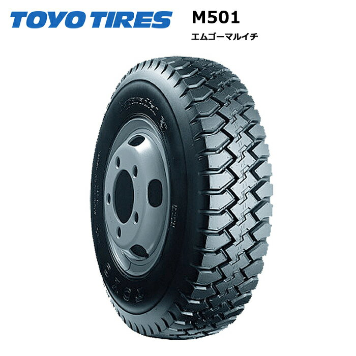 サマータイヤ(195/60R17.5 108)トーヨータイヤ M501 195/60R17.5 108/106L