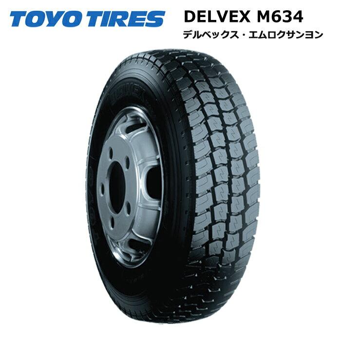 サマータイヤ(205/65R16 109)トーヨータイヤ デルベックス M634 205/65R16 109/107L