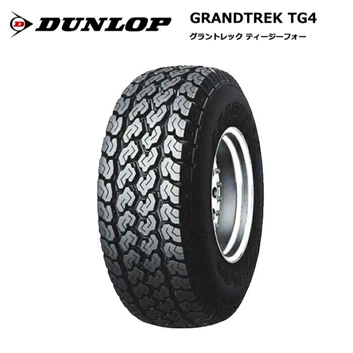 サマータイヤ 4本セット ダンロップ 145R12 6PR グラントレック TG4