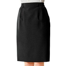 スカート 12226 5号〜17号 ボストン商会 ボンユニ BONUNI ポリエステル100% 黒 無地