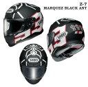 【送料無料・ピンロックシート標準装備】SHOEI(ショウエイ) Z-7 MARQUEZ BLACK ANT(マルケス ブラック アント)