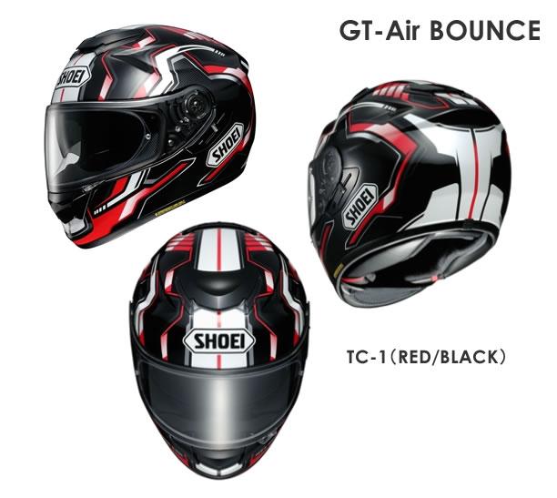 【送料無料・ピンロックシート標準装備】SHOEI(ショウエイ) GT-Air BOUNCE(ジーティーエア バウンス)TC-1