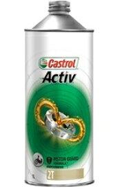 【正規品】カストロール 二輪用2サイクルオイル Activ 2T 1L