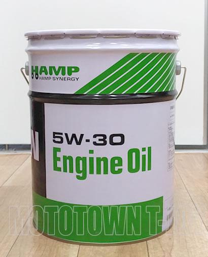 【送料無料!同梱不可】HONDA(ホンダ)HAMP エンジンオイル 5W-30 20Lペール缶 (H0827-999-57)