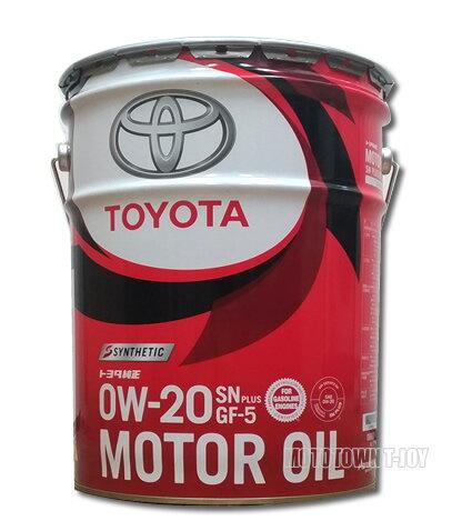 【送料無料! TOYOTA純正】ガソリンエンジンオイル トヨタキャッスル SN 0W20 20L (08880-12203)