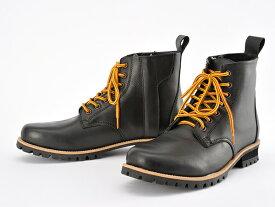 DAYTONA (デイトナ) HBS-003 ショートブーツ ブラック 25.0cm 96963