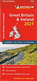ミシュラン製正規品ロードマップ ミシュラン・英国・アイルランド Michelin Great Britain & Ireland