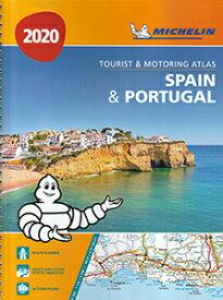 旅行&出張に A4版英語表記の詳細道路地図 ミシュラン・アトラス・スペイン・ポルトガル Michelin Tourist & Motoring Atlas Spain & Portugal 2020