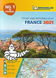 旅行&出張に A4版英語表記の詳細道路地図 ミシュラン・アトラス・フランス Michelin Tourist & Motoring Atlas France 2021