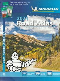 旅行&出張に A4版英語表記の詳細道路地図 ミシュラン・アトラス・北アメリカ Road Atlas USA Canada Mexico 2021