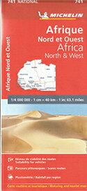 ミシュラン製正規品ロードマップ ミシュラン・アフリカ北西部 Michelin Africa North & West