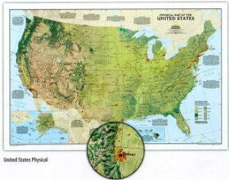 TMAPS Rakuten Global Market United States Topographic States - Us map of states topographic