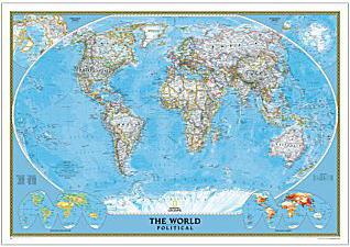 【世界地図クラシック World Classic】