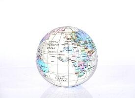 にぎにぎしてストレスを逃がす&効率UP! 世界地図をフィーチャーしたソフトな作りのボール。アンチ・ストレス・ボール・ワールドヴィンテージ