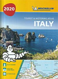 【ミシュラン・アトラス・イタリア Michelin Tourist & Motoring Atlas Italy 2020】