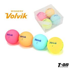 ボルビック Volvik メンズ レディース ゴルフボール カラーボール 4個セット VIVID LITE 4色セット ゴルフ