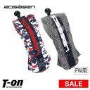 【30%OFF SALE】ロサーセン ROSASEN メンズ レディース ヘッドカバー フェアウェイウッド用ヘッドカバー ダイヤル式…