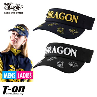 Golf in the fall and winter latest little gong stitch solid logo embroidery 2018 with the dance with dragon dance with dragon DANCE WITH DRAGON DWD men gap Dis sun visor little gong visor tea grafting