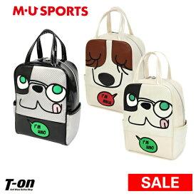 MUスポーツ エムユー スポーツ M.U SPORTS MUSPORTS レディース シューズケース シューズバッグ バイカラー フェイスデザイン ゴルフ