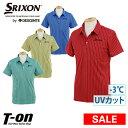 【50%OFF SALE】スリクソンbyデサント SRIXON by DESCENTE メンズ ポロシャツ 半袖ポロシャツ 3℃差クーリング UVカッ…