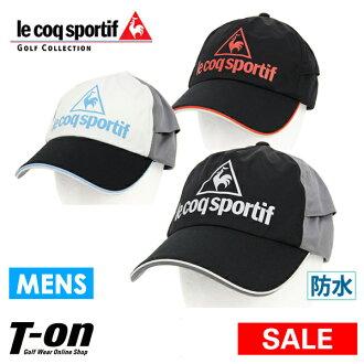I print Le Coq Sportif golf Le Coq le coq sportif GOLF men cap rain cap mesh back aboriginality color reshuffling color piping design logo and golf