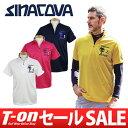 【30%OFF SALE】シナコバ イングレーゼ SINACOVA INGLESE メンズ ポロシャツ 半袖ハーフジップシャツ ハイネックにも…