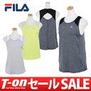 フィラ FILA レディース アンダーウェア タンクトップ ノースリーブシャツ トレーニングウェア ヨガ フィットネス ス…