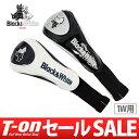 【30%OFF SALE】ブラック&ホワイト Black&White メンズ レディース ヘッドカバー ドライバー用ヘッドカバー 460cc…