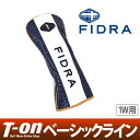 【50%OFF SALE】フィドラ FIDRA メンズ レディース ヘッドカバー ドライバー用ヘッドカバー 460cc対応 レザー調素材 …
