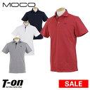 【40%OFF SALE】モコ MOCO スツールズ STOOLS メンズ ポロシャツ 半袖ポロシャツ ストレッチ ダイヤモンドチェック柄ジャガード ロゴ刺繍 ゴルフウェア