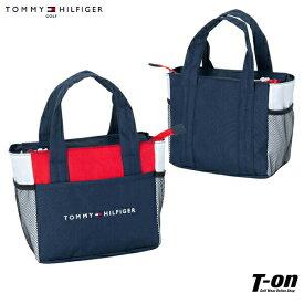 トミー ヒルフィガー ゴルフ TOMMY HILFIGER GOLF 日本正規品 メンズ レディース カートバッグ カートポーチ ラウンドトート ロゴ刺繍 トリコロールデザイン メッシュポケット ゴルフ