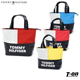 トミー ヒルフィガー ゴルフ TOMMY HILFIGER GOLF 日本正規品 メンズ レディース カートバッグ カートポーチ トートバッグ ビビットカラー ロゴプリント ゴルフ
