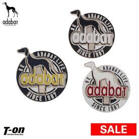 【30%OFF SALE】アダバット adabat メンズ レディース マーカー フリップマーカー 立体マーカー サルーキ犬デザイン 2019 春夏 新作 ゴルフ