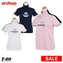 アルチビオ archivio レディース ハイネックシャツ 半袖ハイネックシャツ ストレッチ 吸水速乾 制電 メッシュ切り替え…