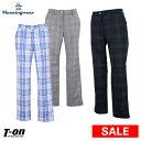 【30%OFF SALE】マンシングウェア Munsingwear レディース パンツ 9分丈パンツ M〜3Lまでご用意 ストレッチ タータン…