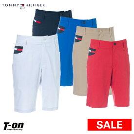 【30%OFF SALE】トミー ヒルフィガー ゴルフ TOMMY HILFIGER GOLF 日本正規品 メンズ パンツ ハーフパンツ ショートパンツ ストレッチ 吸水速乾 すべり止め付き ロゴ刺繍 2019 春夏 ゴルフウェア