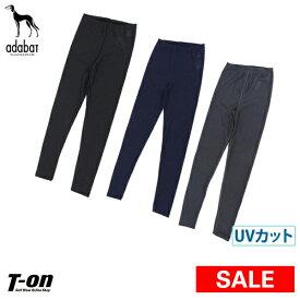 【30%OFF SALE】アダバット adabat レディース レギンス 12分丈 UVカット ストレッチ メッシュ素材 ゴルフウェア